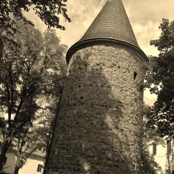 Původní opevnění centra Klatov