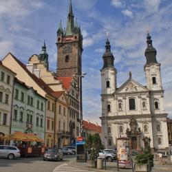 Pohled na klatovské náměstí