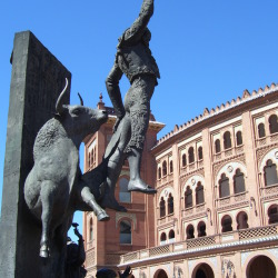Plaza de Toros in Madrid, Spain