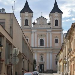 Barokní kostel sv. Vavřince v Klatovech