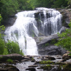 Beautiful Bald River Falls (Tellico, Tennessee)