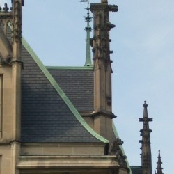 The Roof and Turrets of The Biltmore House