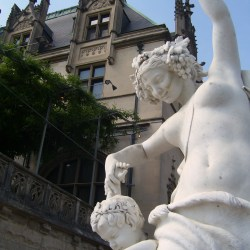 A Statue at the Biltmore House