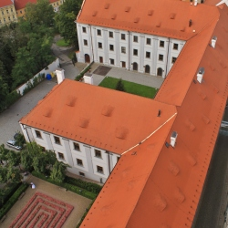 Knihovna v Klatovech, původně gymnázium jezuitů