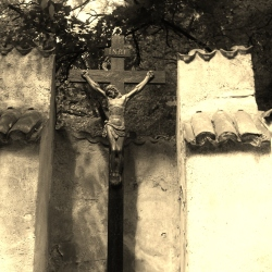 A Crucifix at the Hrad Karlstejn