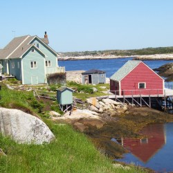 Fishing Houses in Peggy's Cove