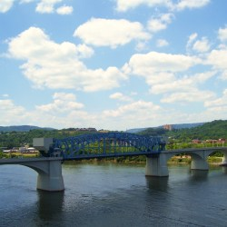 Railroad Bridge over the Tennessee River (Chattanooga, Tennessee)