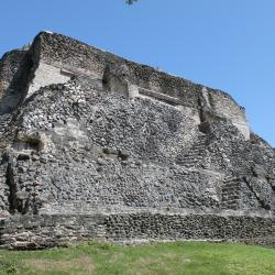 El Castillo of Xunantunich Mayan Temples