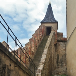 The Ramparts of the Hrad Karlstejn