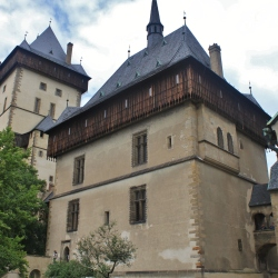 The Halls of the Hrad Karlstejn