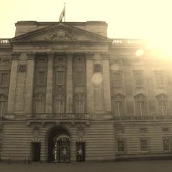 Buckingham Palace in the Summer Sun