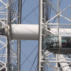 A Close-up of the London Eye