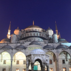 The Blue Mosque Exterior