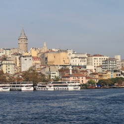The Golden Horn and the Marmata Tower