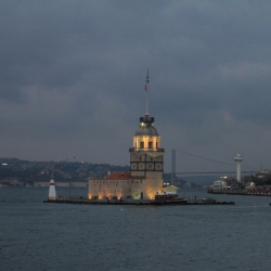 The Maiden's Tower in the Bosphorus