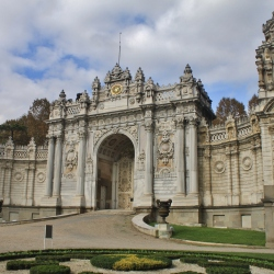 The Gate of the Dolmabahçe Palace