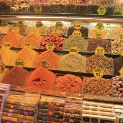 Spices at the Egyptian Spice Market