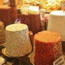 Lokum, or Turkish Delight, as seen in the Egyptian Spice Market