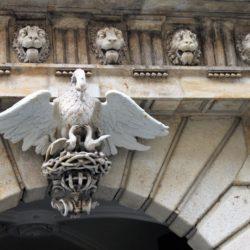 Dresden Germany Eagle