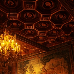 A Ceiling in The sovereign Grands Appartements