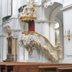 Dresden Germany Church Lectern Pulpit