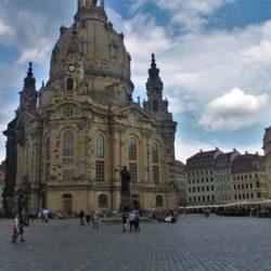 Dresden Germany Firebombing Church WW2 WWII