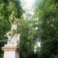 Statue in the English Gardens at Fontaniebleau