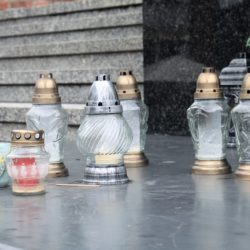 Rybnik, Poland prayer candles bascilica