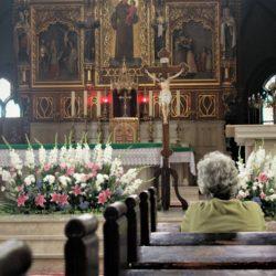 Rybnik, Poland bascilica prayers of the faithful