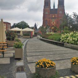 Rybnik, Poland storm church basilica