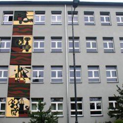 Rybnik, Poland mural museum