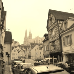 Chartres Old City and Cathedral