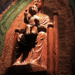 Black Madonna in the Cathedral of Chartres