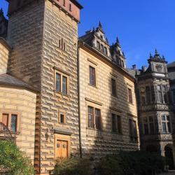 The Front Facade of Zamek Frýdlant