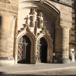 Doors to the Frauenkirche, or The Church of Our Lady