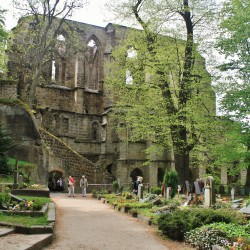 Oybin Cemetery and Castle