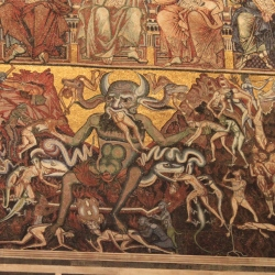Ceiling Paintings of The Baptistery of the Duomo of Florence