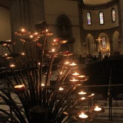 Candles inside Il Duomo di Firenze