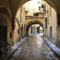 A Typical Florentine Road
