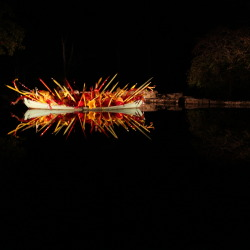Piece Made by Dale Chihuly (Cheekwood Botanical Gardens, Nashville, Tennessee.)