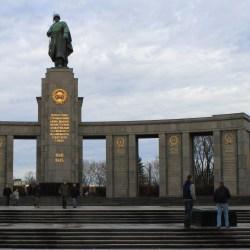 Das Sowjetische Ehrenmal, or the Soviet War Memorial in the Tiergarten