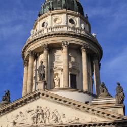 Französischer Dom in the Gendarmenmarkt